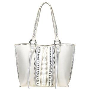 Montana West Concealed Carry Purse Handbag White